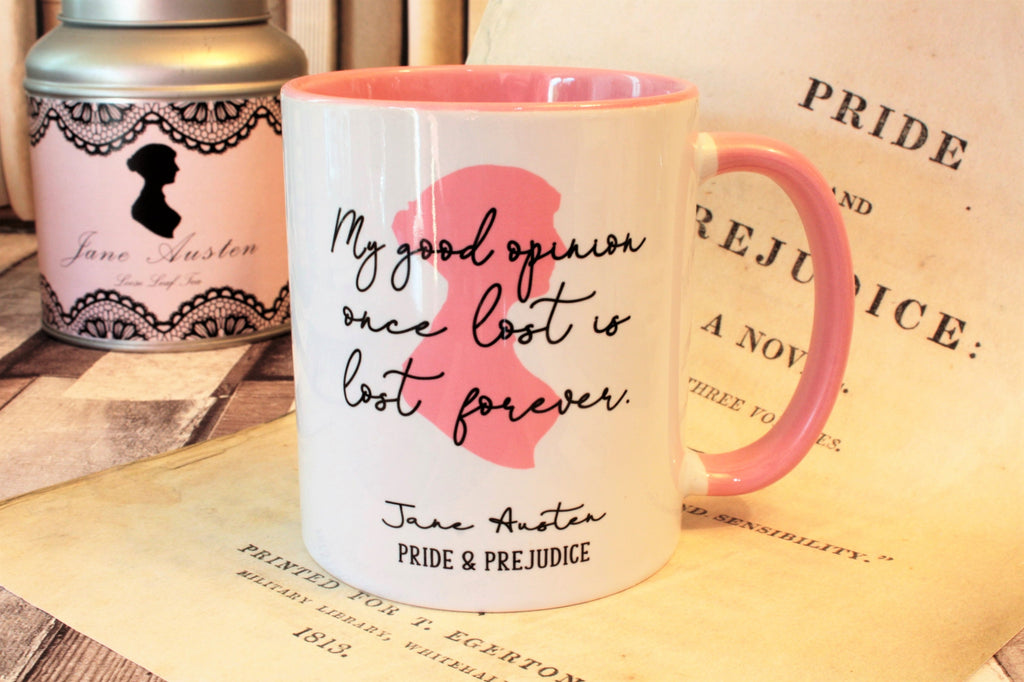 Bookish mugs to drink tea from