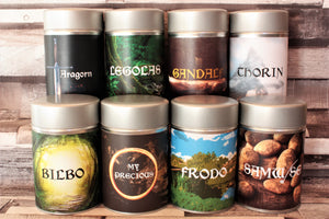 Lord of the Rings Inspired teas