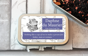 Daphne du Maurier Tea in a tin