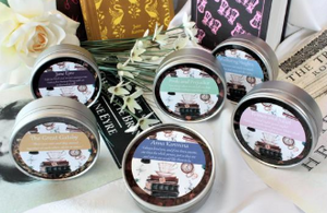 Classic Love Story Gift Tins. Valentines Gift idea