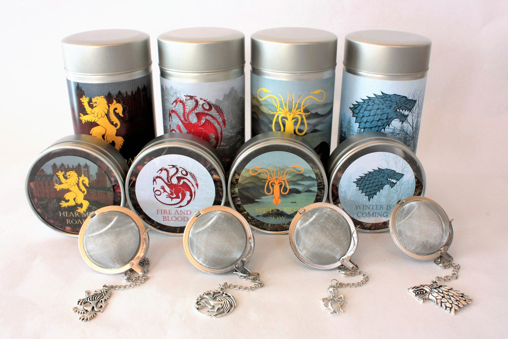 Game Of Thrones Inspired Teas