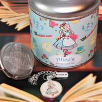 alice in wonderland tea and gift