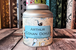 Arthur Conan Doyle Tea Tin
