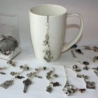 Author and poet inspired tea infuser with range of charms
