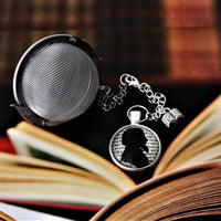 Charles Dickens Tea Infuser With Cabochon