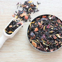 range of loose leaf tea