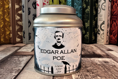 Poe tea caddy