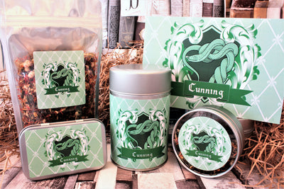 Slytherin Inspired Loose Leaf Tea