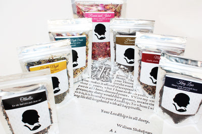 Shakespeare Tea Collection - Individual Blends