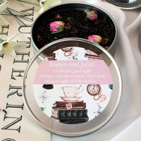 Literary Classic Love Stories Gift Tins