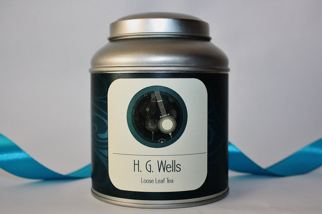 H. G. Wells Tea Caddy Gift