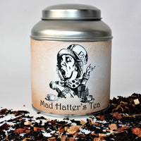 Mad Hatter Inspired Tea Infuser With Glass Cabochon