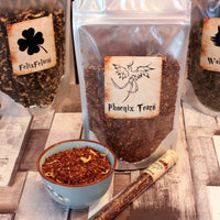 pack of Phoenix Tears loose tea inspired by harry potter