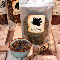 pack of Wolfsbane loose tea inspired by harry potter