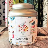 alice in wonderland tea gift tin