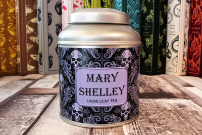 mary shelly tea caddy