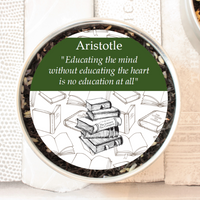 aristotle gift tin