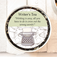 Writer's Tea - A Perfect Literary Gift