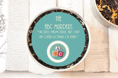 The ABC Murders Tea Gift Tin