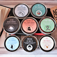Agatha Christie Inspired Tea Gift Tins - Literary Gift - Fandom Tea