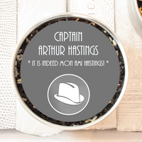 Captain Arthur Hastings Tea Gift Tin