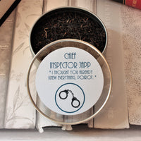 Chief Inspector Japp's Tea Gift Tin