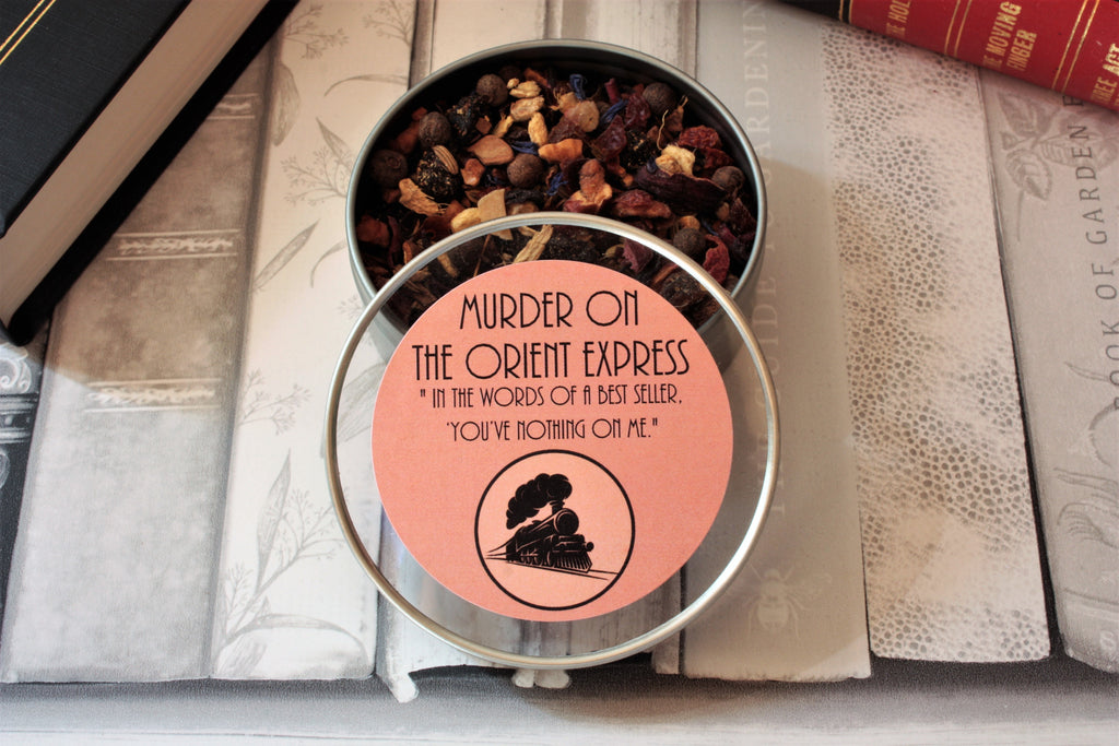Murder on the Orient Express Tea Gift Tin