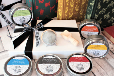 Literary Greats Gift Box  - Selection of Authors and Poets