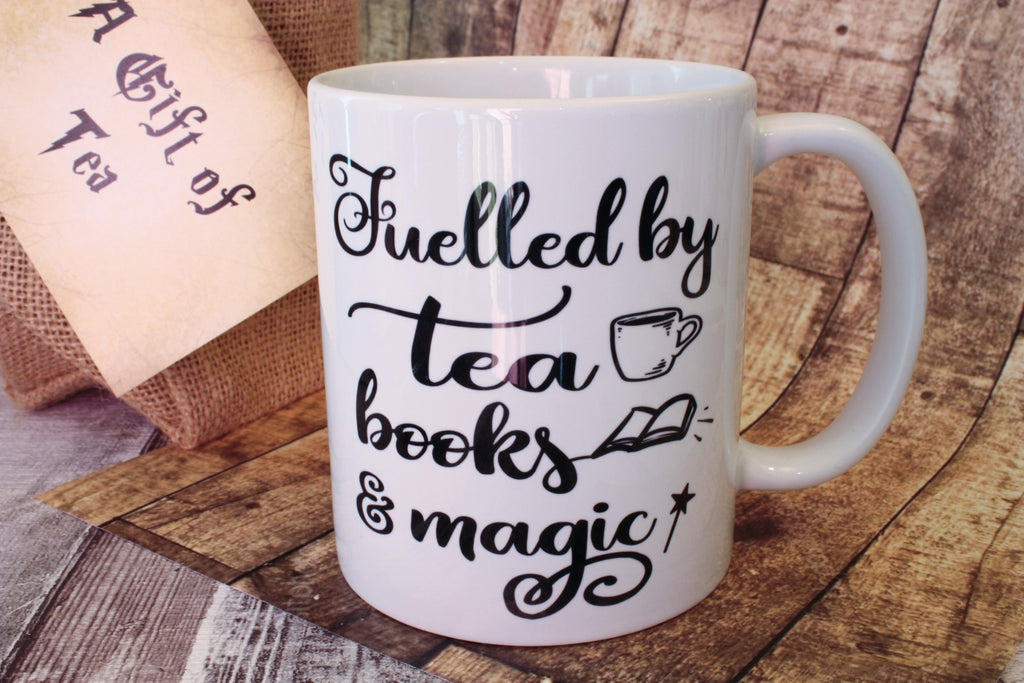Fuelled by tea, books and magic mug