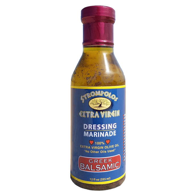 Strompolos' Greek Balsamic Dressing 12oz