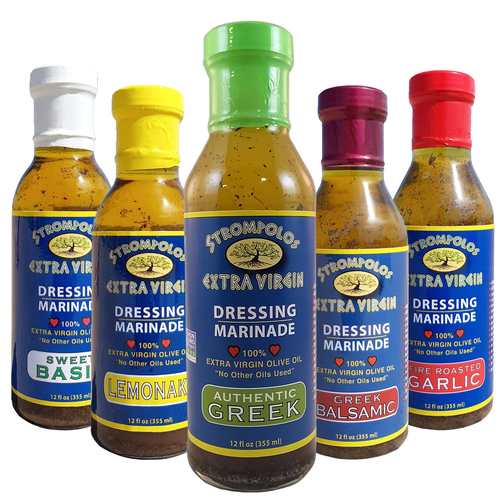 Strompolos' All 5 Authentic Dressings Bundle 15% OFF