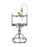 42828wh (Steel Powder Coated Play Stand-White)