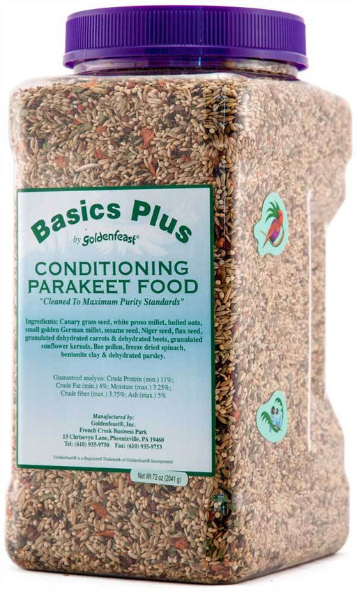 Basic Plus Parakeet Food-72oz. (Basic Plus Parakeet Food-72oz.)