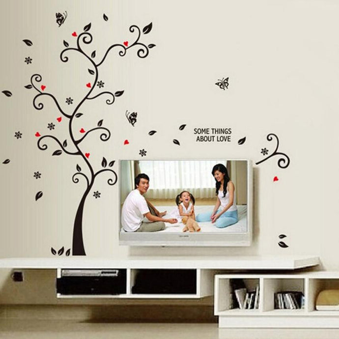 Super Deal Frame Tree Wall Stickers Muslim Vinyl Home Stickers Wall