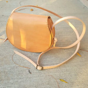 Ragnhild saddle bag - natural