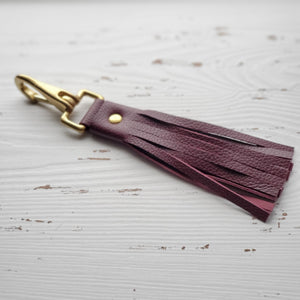 Sleipnir tassle bag charm/key chain
