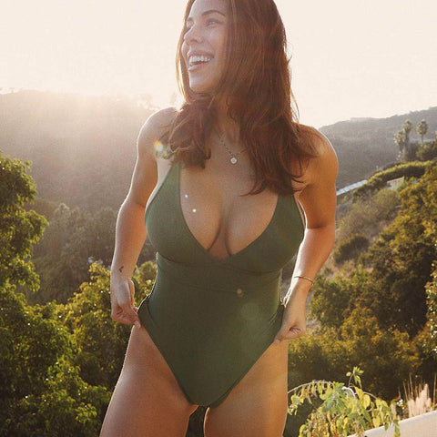 New Sexy One-Piece Women Swimsuit