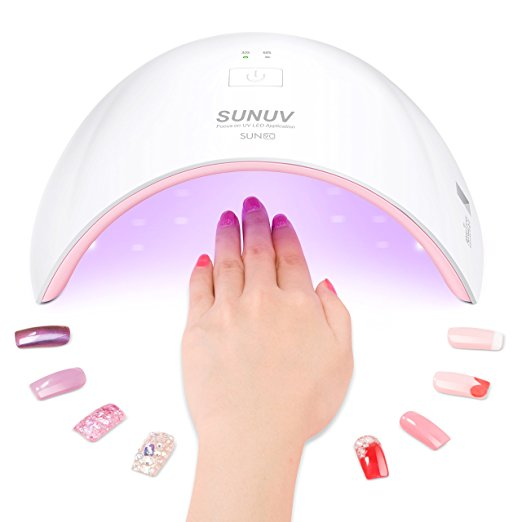 SUN9C Plus 36W Professional UV LED Nail Lamp
