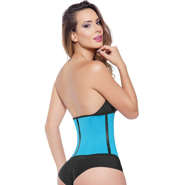 Extreme Waist Trainer 3 Hook Blue