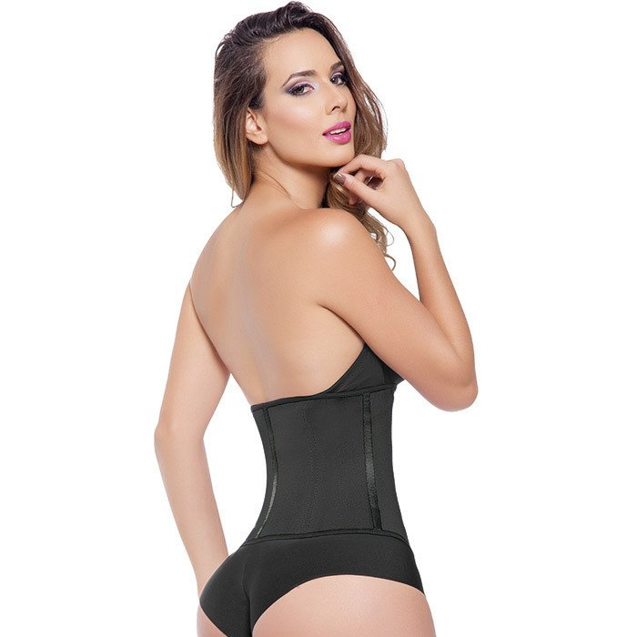 EXTREME WAIST TRAINER 3 HOOK BLACK