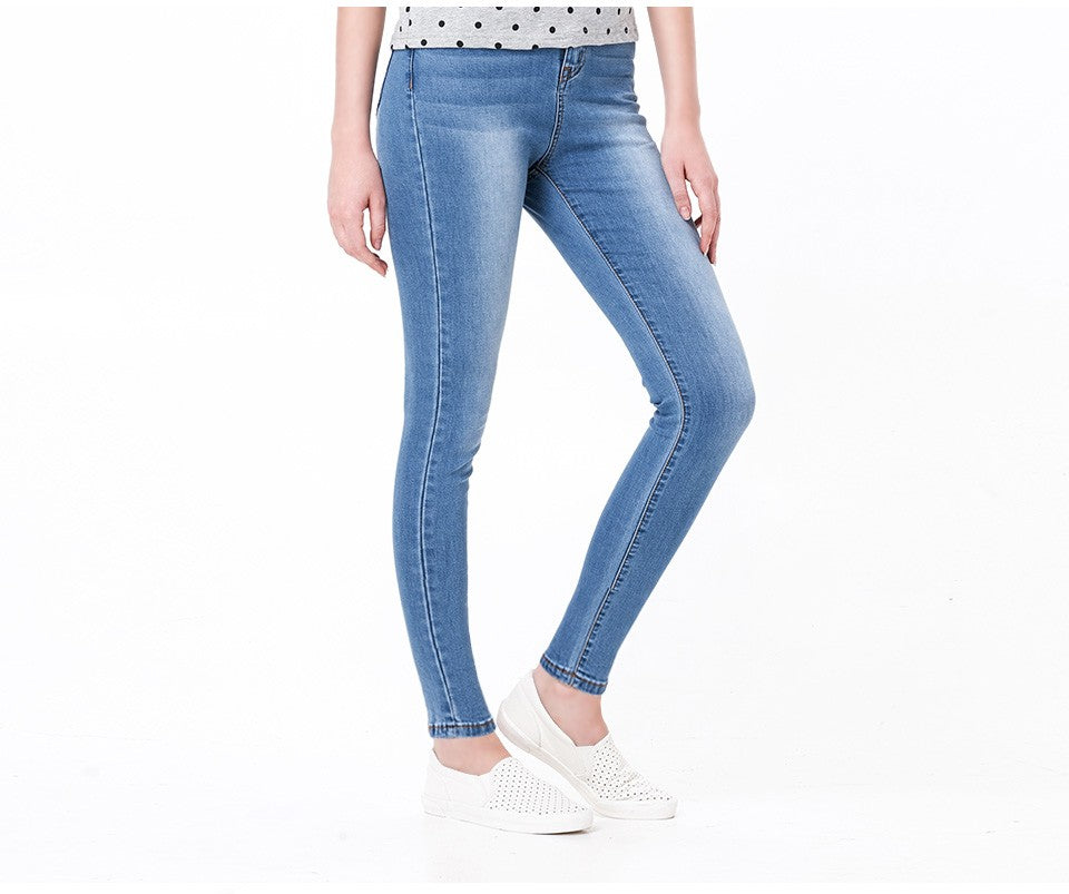 High Waist Casual Jeans
