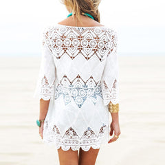 Lace Hollow Beach Cover Up
