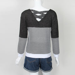 Hollow Out Knitted Sweater