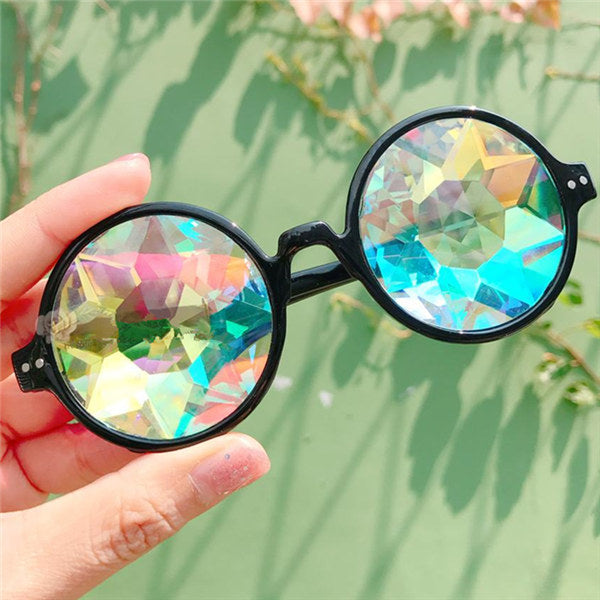 Round Kaleidoscope Sunglasses