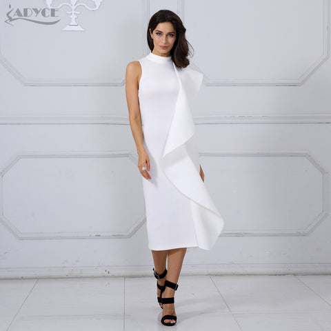 Kitlyn Bodycon Bandage Midi Dress
