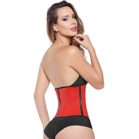 Extreme Waist Trainer 3 Hook Red