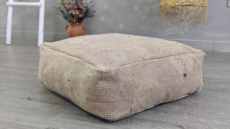 Moroccan Floor Pillow - 60 x 60 x 20 cm