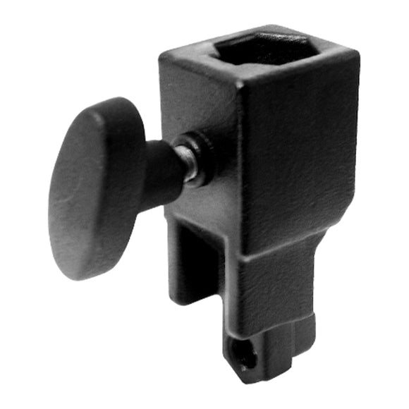 Super Convi Clamp Double Socket -Black