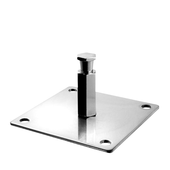 100mm Square Mounting Plate