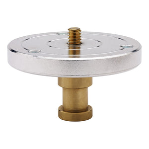 1/4in-20 Threaded Mounting Plate with Baby 5/8in (16mm) Stud